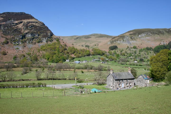 Traditional Welsh Farmhouse in the Tanat Valley