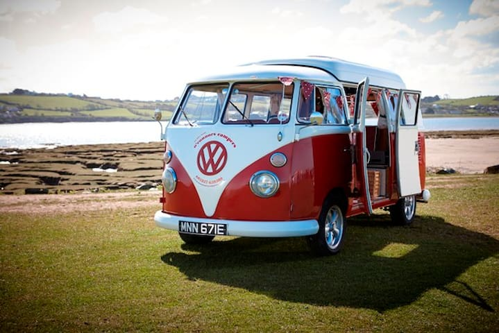 O'Connors Campers VW Campervan Hire - Okehampton - Trailer