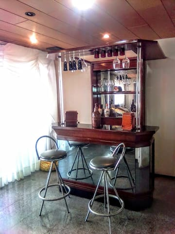 Bar da sala