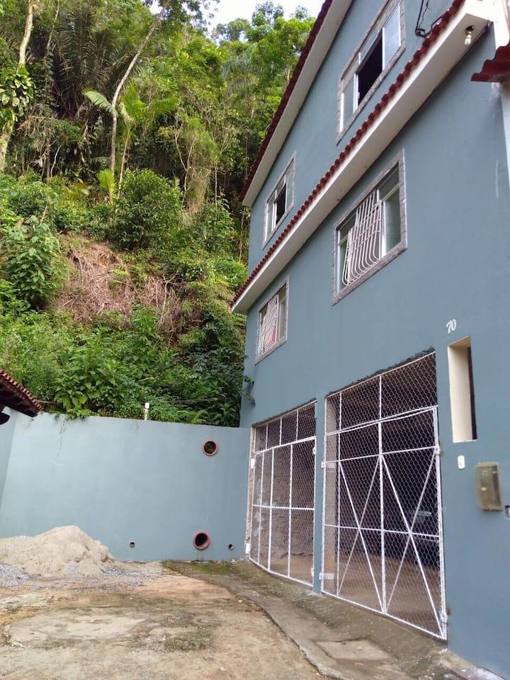 Casa de praia em São Gonçalo, Paraty.