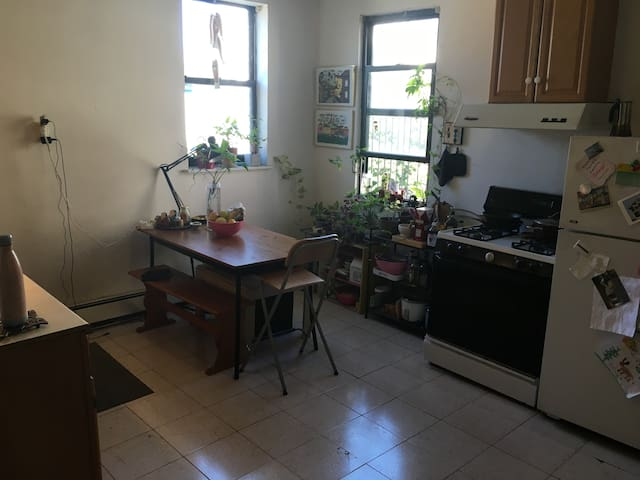 Sunny Room in a Cozy & Spacious Apartment