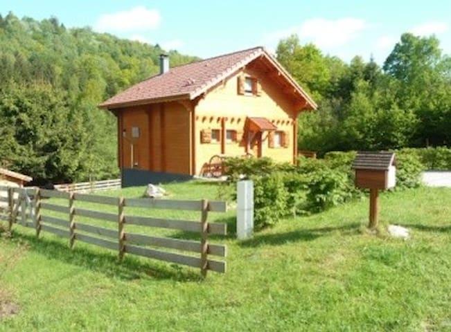 Chalet tout confort  dans les Vosges - Le Menil