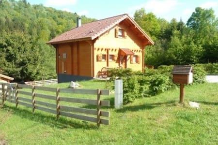 Chalet tout confort  dans les Vosges - Le Menil - Dağ Evi