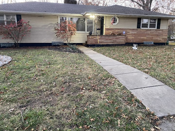 Family Space  3 BR/ 2 BA (First level of home)