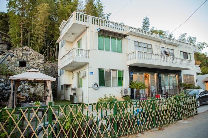 大罗山·休闲度假·整栋别墅·KTV·烧烤、台球、麻将桌、观景台