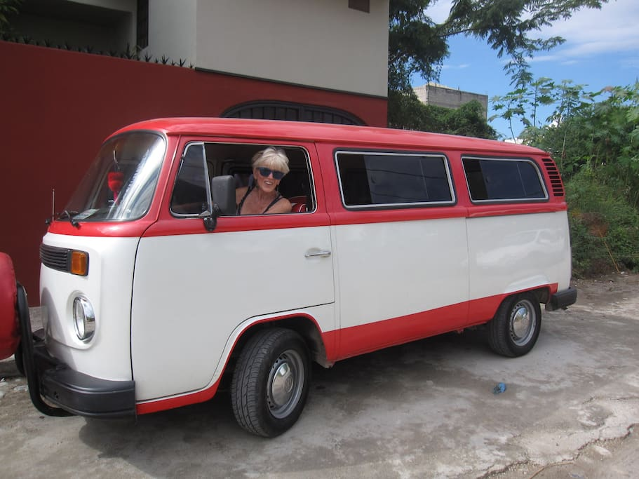 1979 Kombi - to & from airport.
