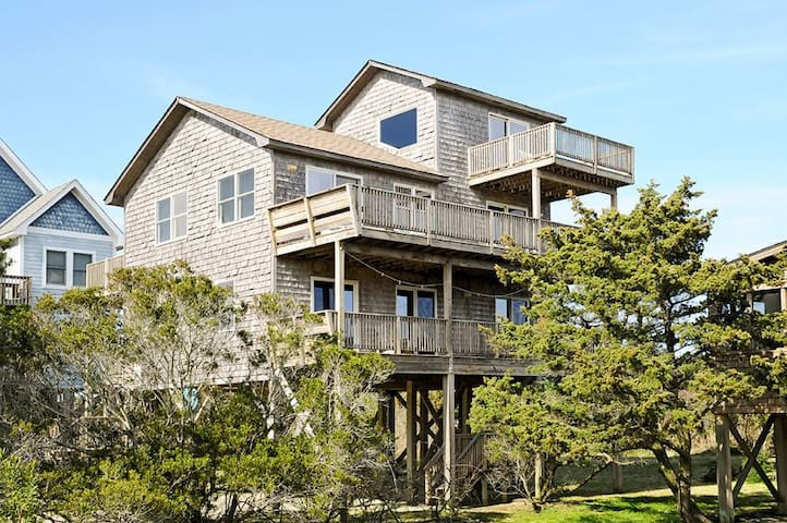 Hatteras Village Classic! Close to the beach, dining, & marinas!