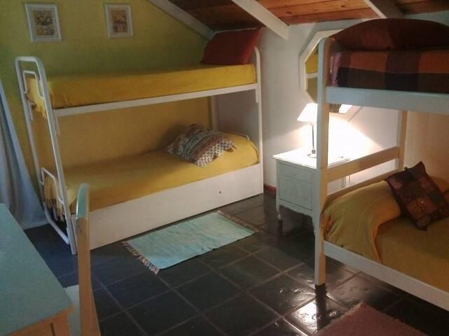Habitación familiar 5 camas