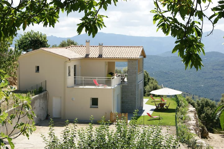Appartement *** rez de villa - Serra-di-Scopamène - Leilighet