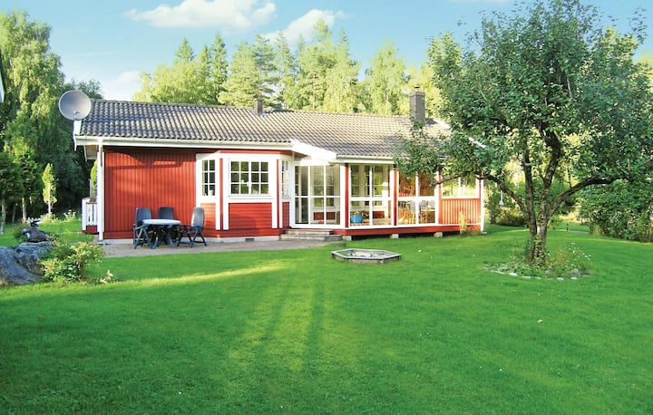 Nice home in Ambjörnarp with Sauna, WiFi and 3 Bedrooms