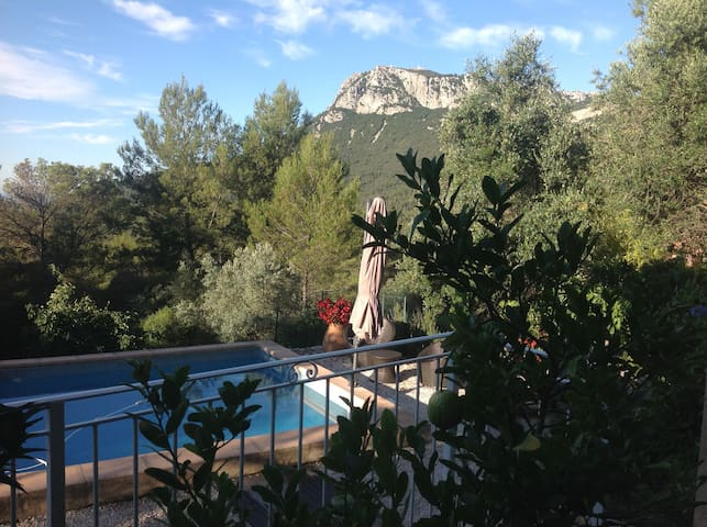 B&B dans maison provençale piscine - Solliès-Ville - Bed & Breakfast