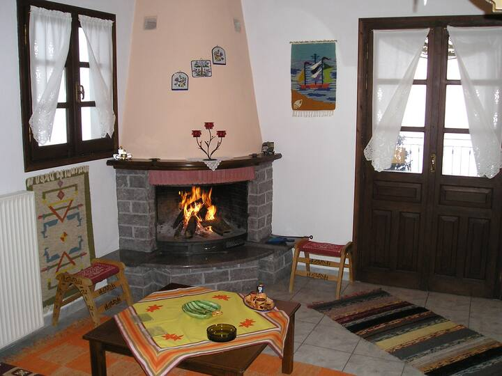 Magda Studios - Vigla (Fireplace - Special view)