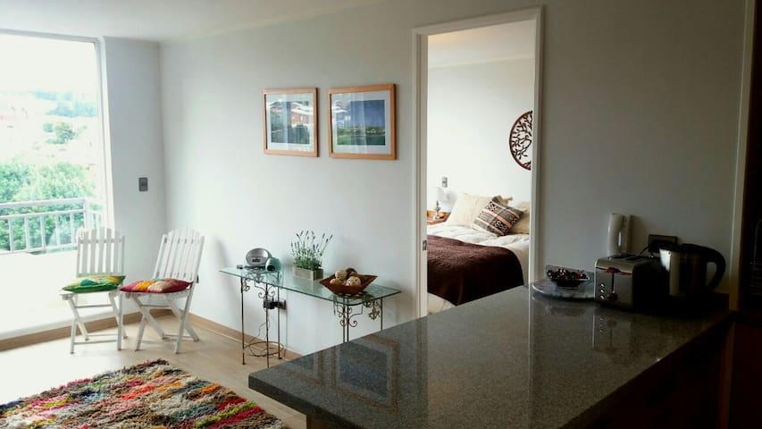 Cozy new apartment w/parking place in Puerto Varas - Puerto Varas - Apartment