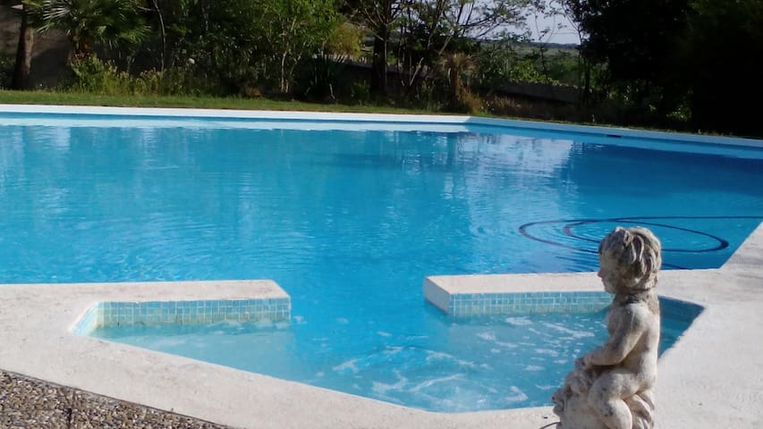 Little Holiday Flat with Pool - Specchia - Appartement