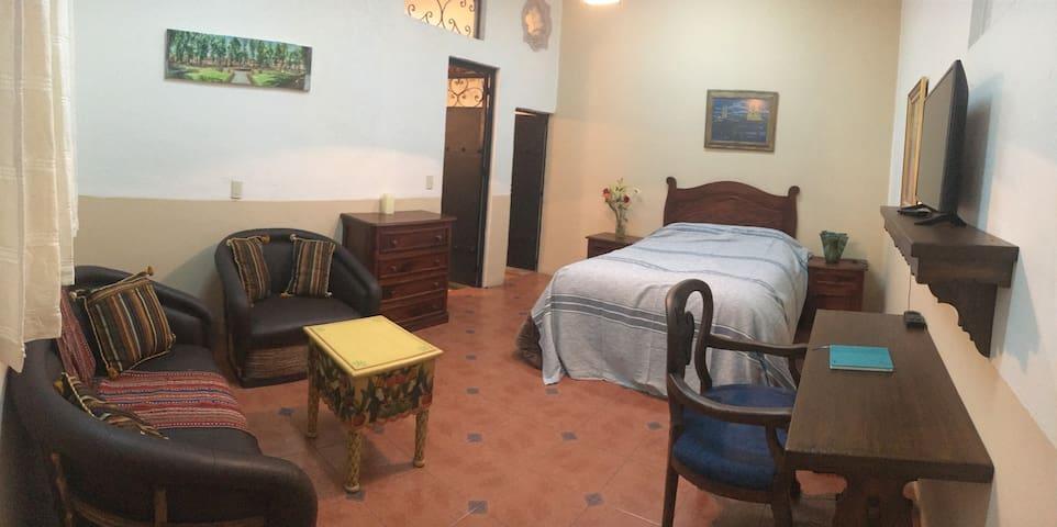 Private comfortable suite in downtown Morelia MLM - Morelia - Apartment
