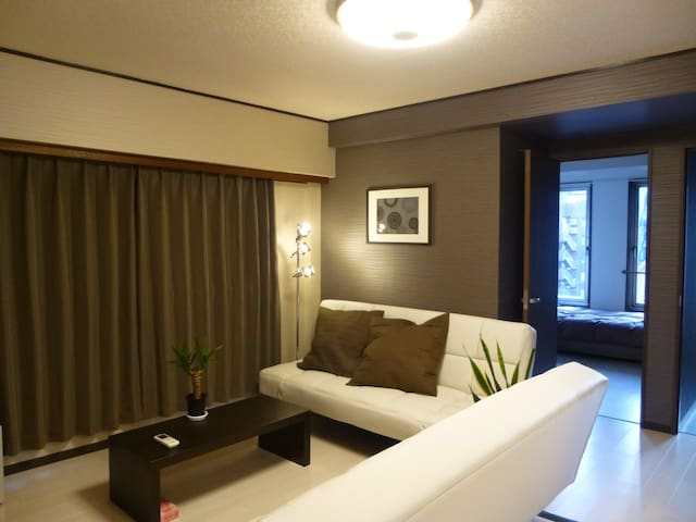 5F Entire Apt. 2BR+LK. Central Tokyo! Free P.WiFi! - Chiyoda-ku - Apartment