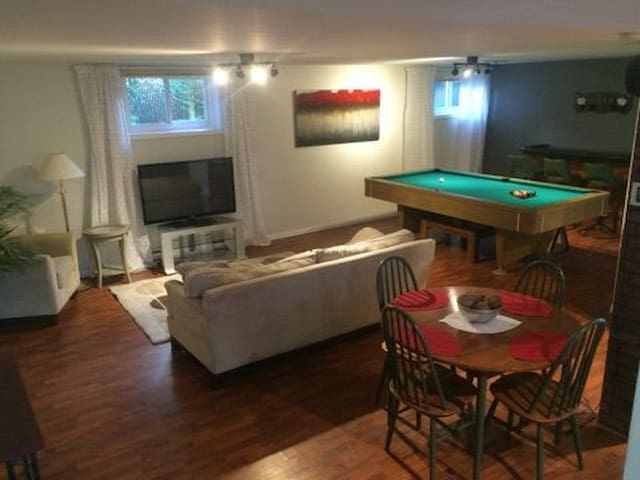 Big 1 bedroom apartment 8km from downtown Montreal
