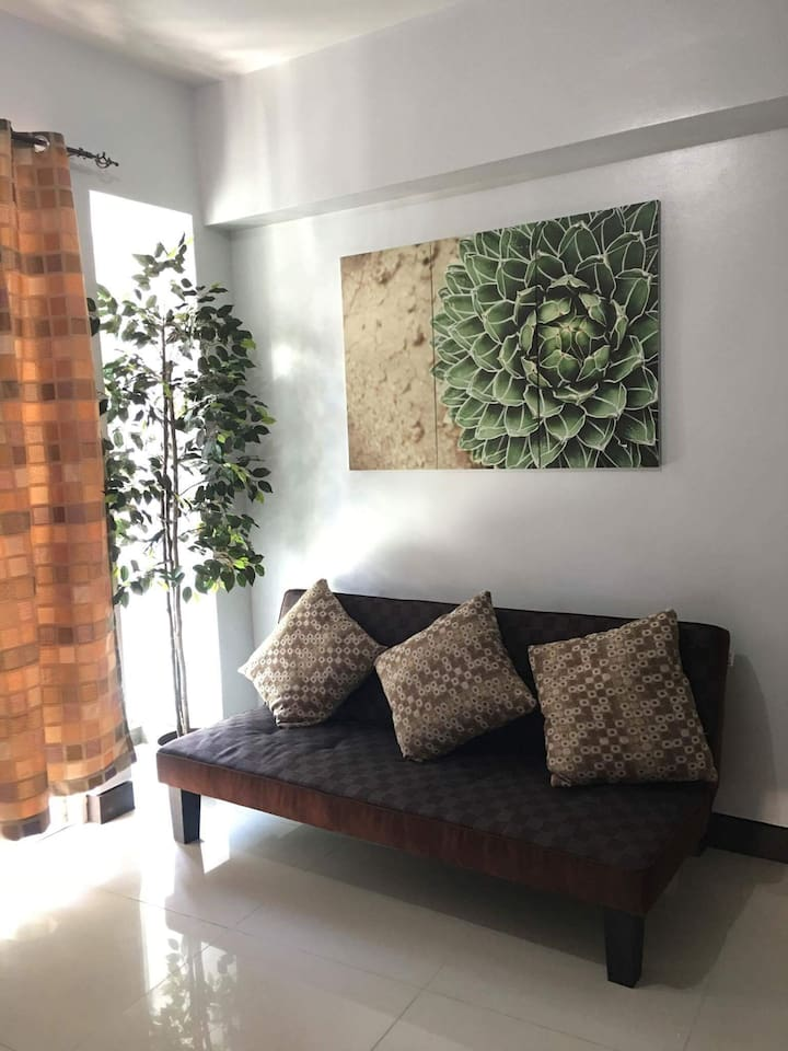 Living Space with  TV