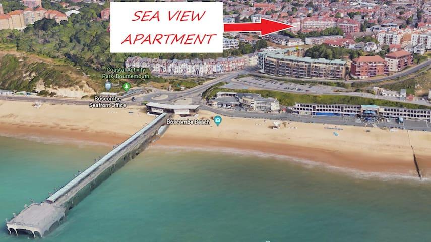 Stunning Sea View Apartment - Award Winning Beach