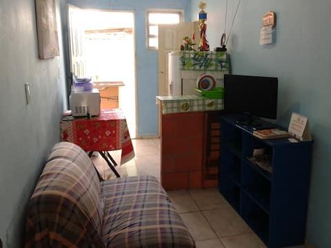 pequeno apartamento mobiliado