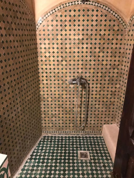 seperate Bathroom moroccan style...