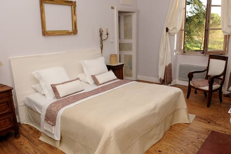 Peace and space in a family mansion - Marssac-sur-Tarn - Bed & Breakfast