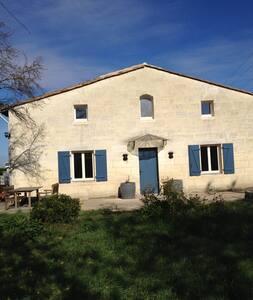 Maison intime au coeur des vignes de Saint Emilion - Saint-Sulpice-de-Faleyrens