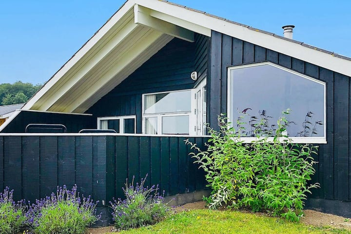 Spacious Holiday Home in Sjølund with Indoor Whirlpool