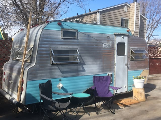 Cute Backyard Trailer