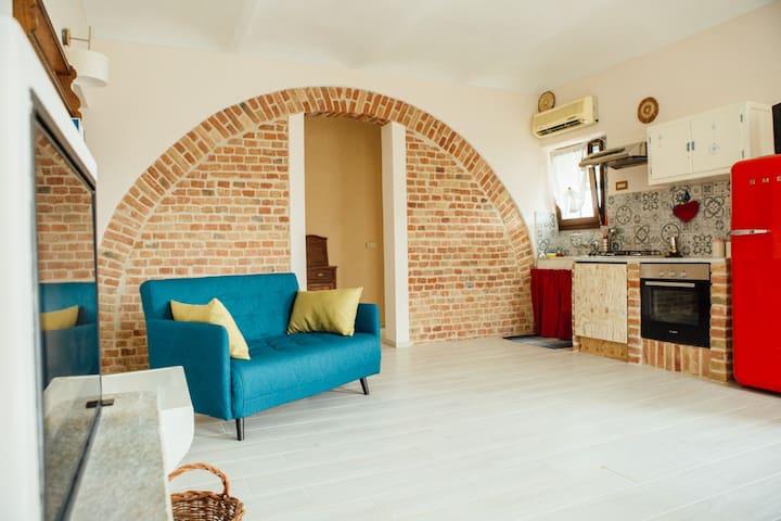 La casa dell'arco, tra Langhe, Roero e Monferrato