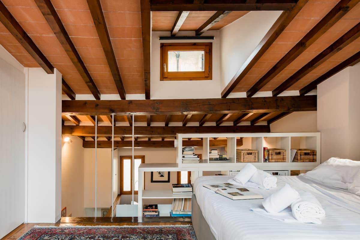 Modern Bohemian Penthouse in Santa Croce