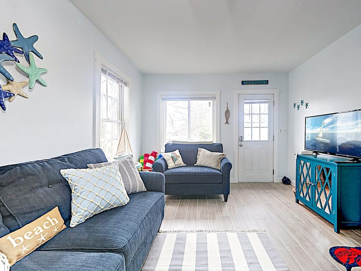 Updated Home Near Downtown, 10-Minute Walk to Beach