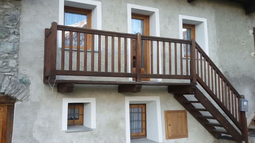 Flat with stunning view over the Valtournenche - Valtournenche - Apartemen