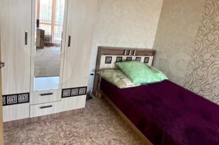 Очень комфортабельная 1-комнатная квартира.