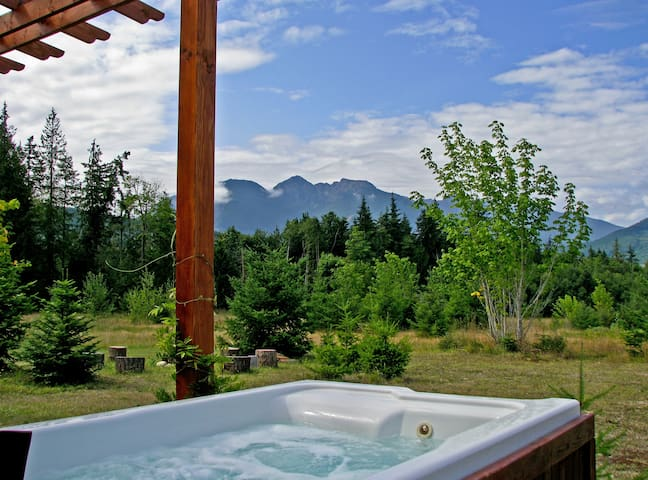 Soak Up the Views in Your Private Hot Tub