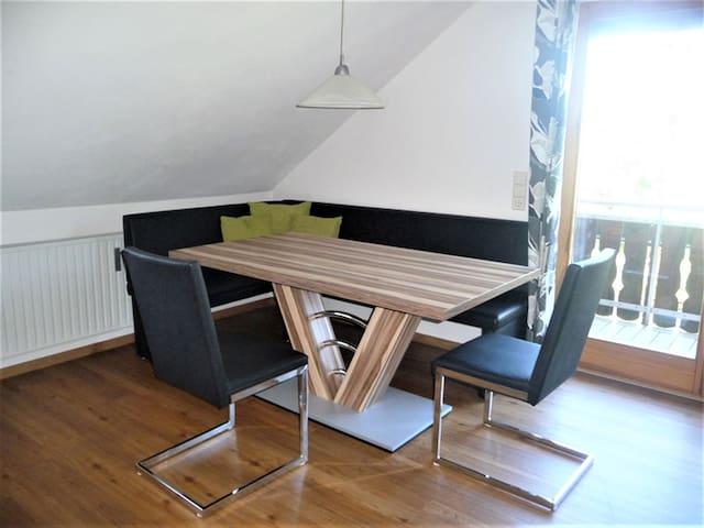 Gästehaus Reischmann, (Lindau am Bodensee), Ferienwohnung Obstgarten, 55 qm, 2 Schlafräume, max. 4 Personen