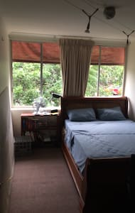Master Bedroom in Cosy & Central Two Bedroom Flat - Auchenflower - Byt