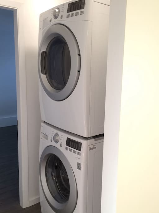 New stacking laundry