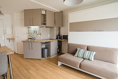 Studio centre avec balcon et parking privé - Tuluza
