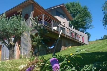 Jolie maison en bois à Aramits (64) - Aramits - Γήινο σπίτι
