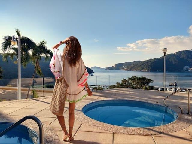 Descanso Total en Acapulco!