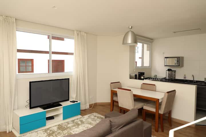 Apartamento com Hidro a 700 metros do Centro