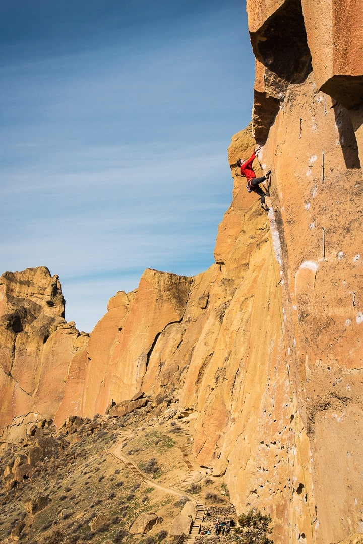 Photographing the Rock Climbers