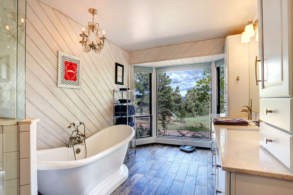 Master Bathroom w/ Beautiful views!