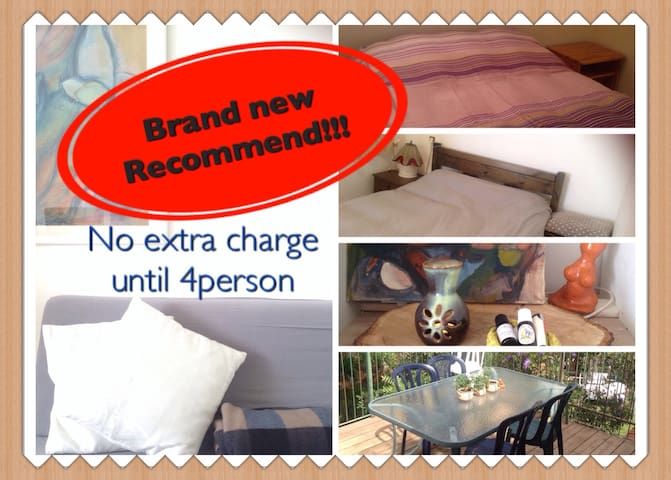 No extra charge until 4persons - Kahal - Apartemen