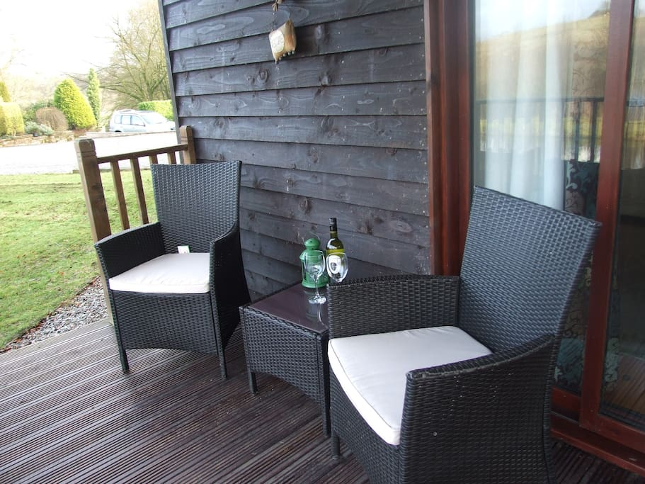 Just relax on the veranda and enjoy a glass of wine
