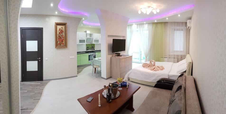 Сеть Апартаментов Аврора ул. Фомина 9