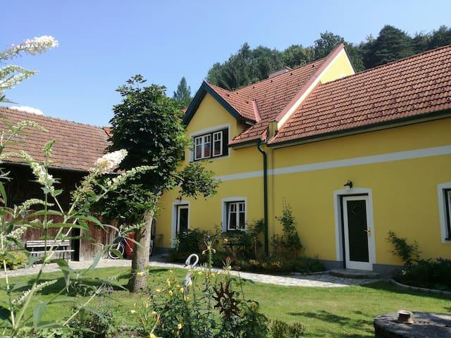 Wohnen in der Natur zwischen Wachau und Voralpen