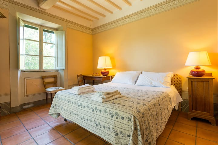 Lovely room in ancient Tuscany Villa