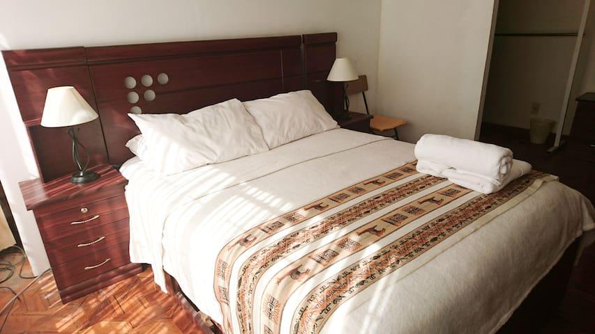 La Paz-Travellers House: Private Double Room - La Paz